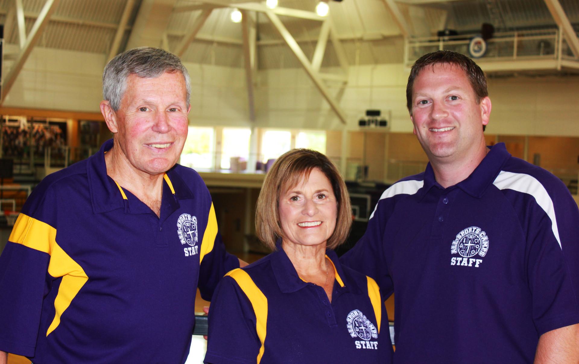 Bob Judy Tom - Loras All Sports Camp Leaders