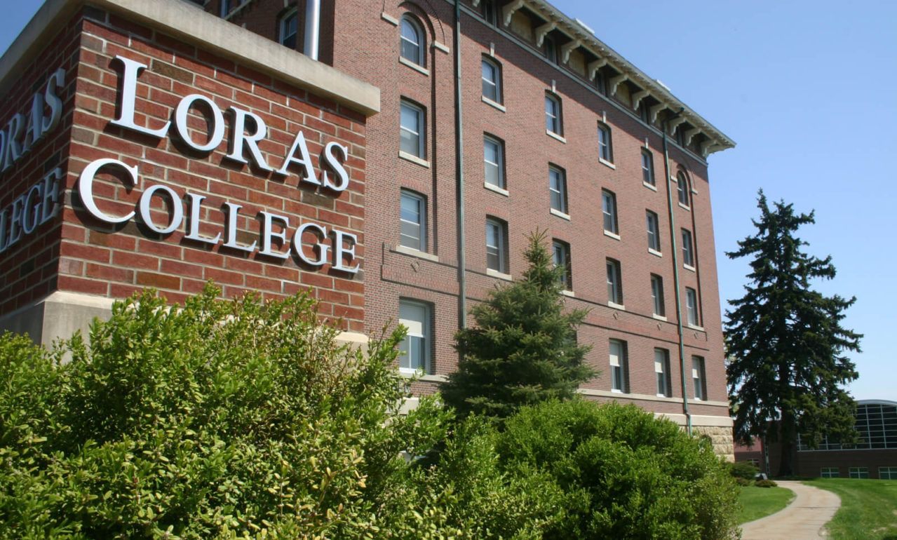 Loras College Pillar
