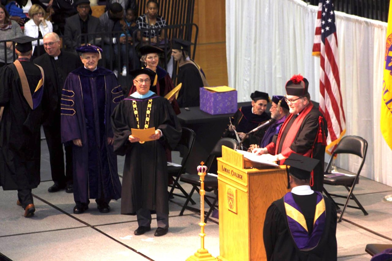 Loras College Commencement