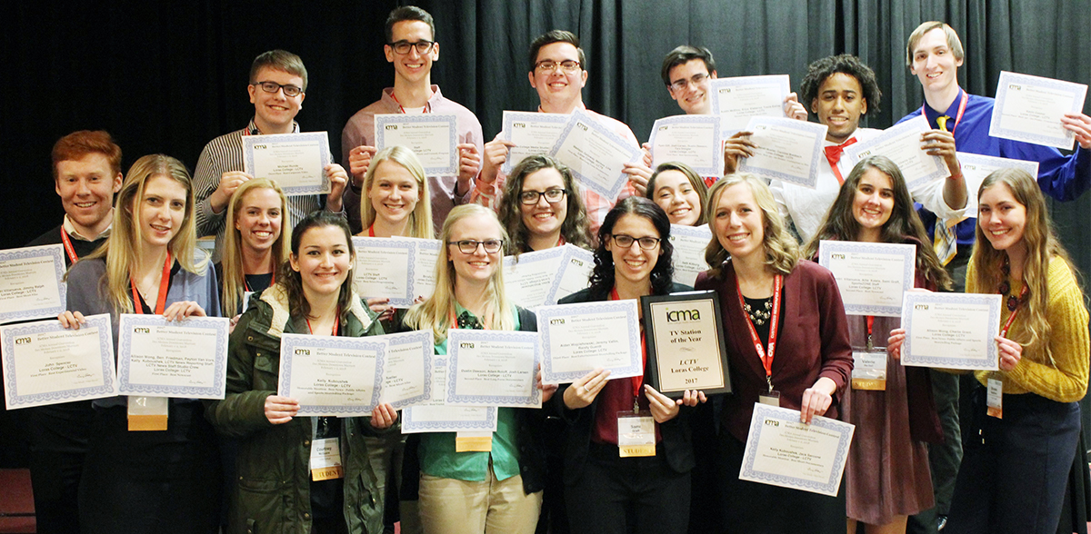 Loras College TV earns Station of the Year for unprecedented ninth time