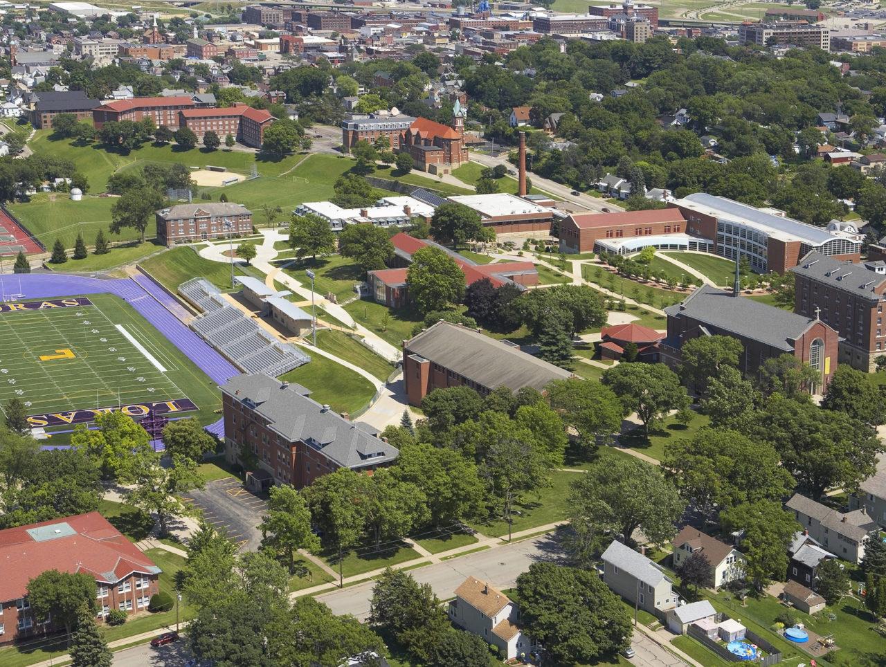 Loras Campus Map.Campuswide Loras College
