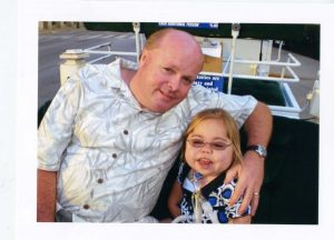 Pete Molloy ('84) and daughter Anna