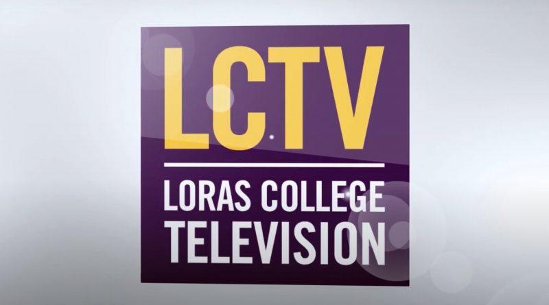 Loras College Television banner