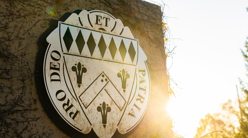 Loras College Crest