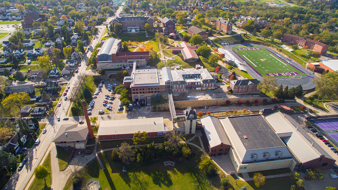 Loras Campus Fall